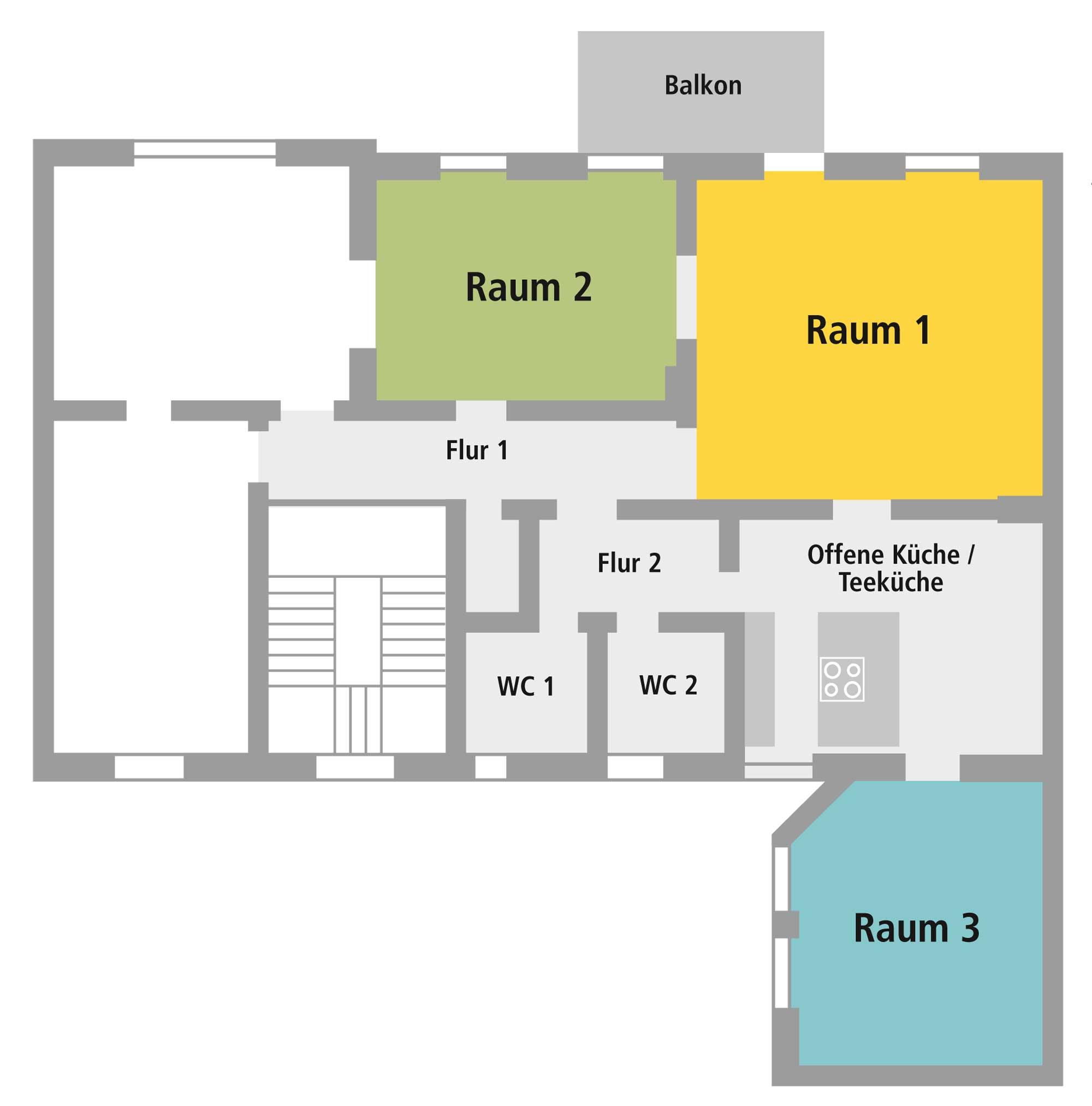 Ebene 11 - Grundriss